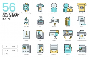 56-Traditional-Marketing-Icons-cover