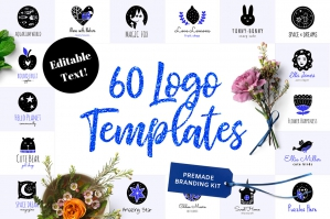 60-Logo-Templates-Branding-Kit-cover