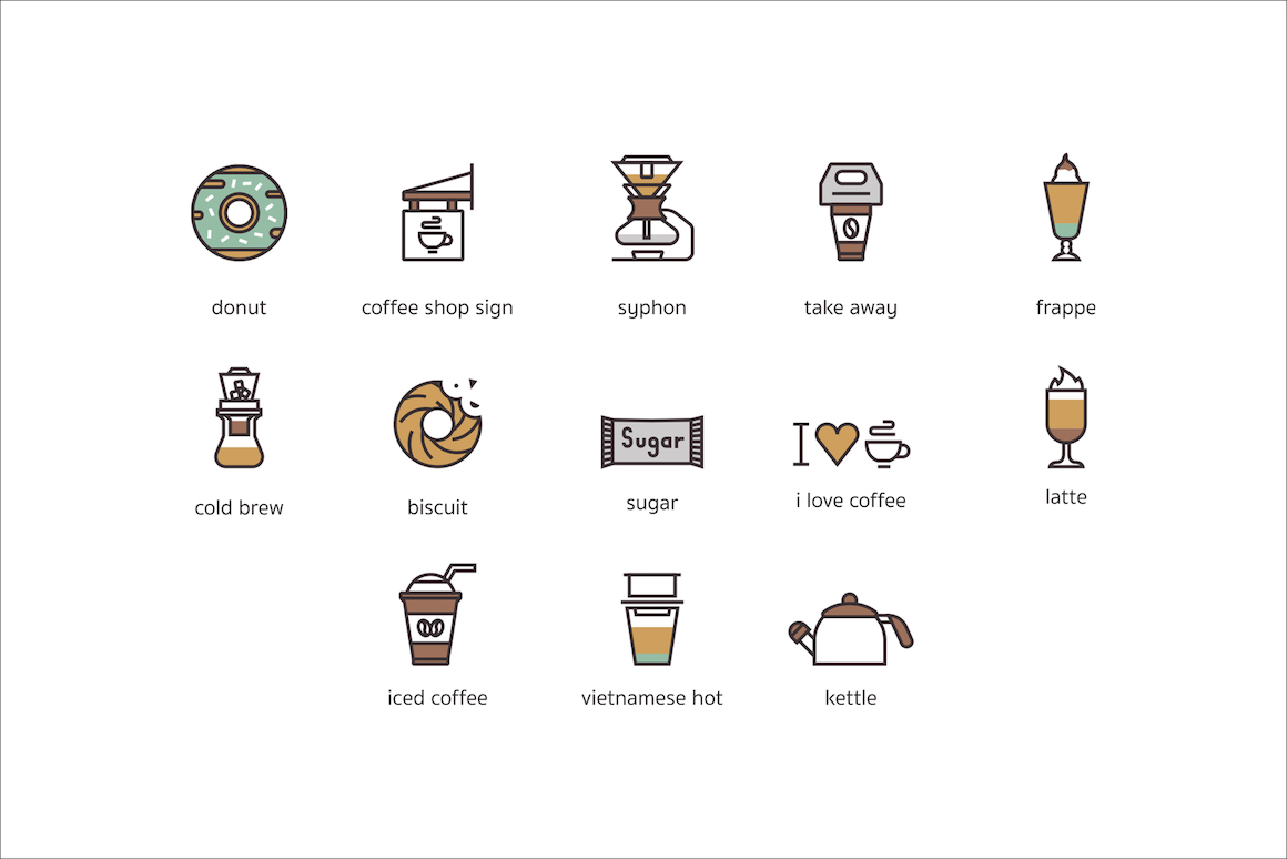 73 Coffee Icons