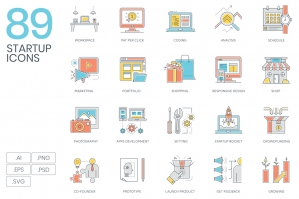 89-Startup-Color-Line-Icons-cover