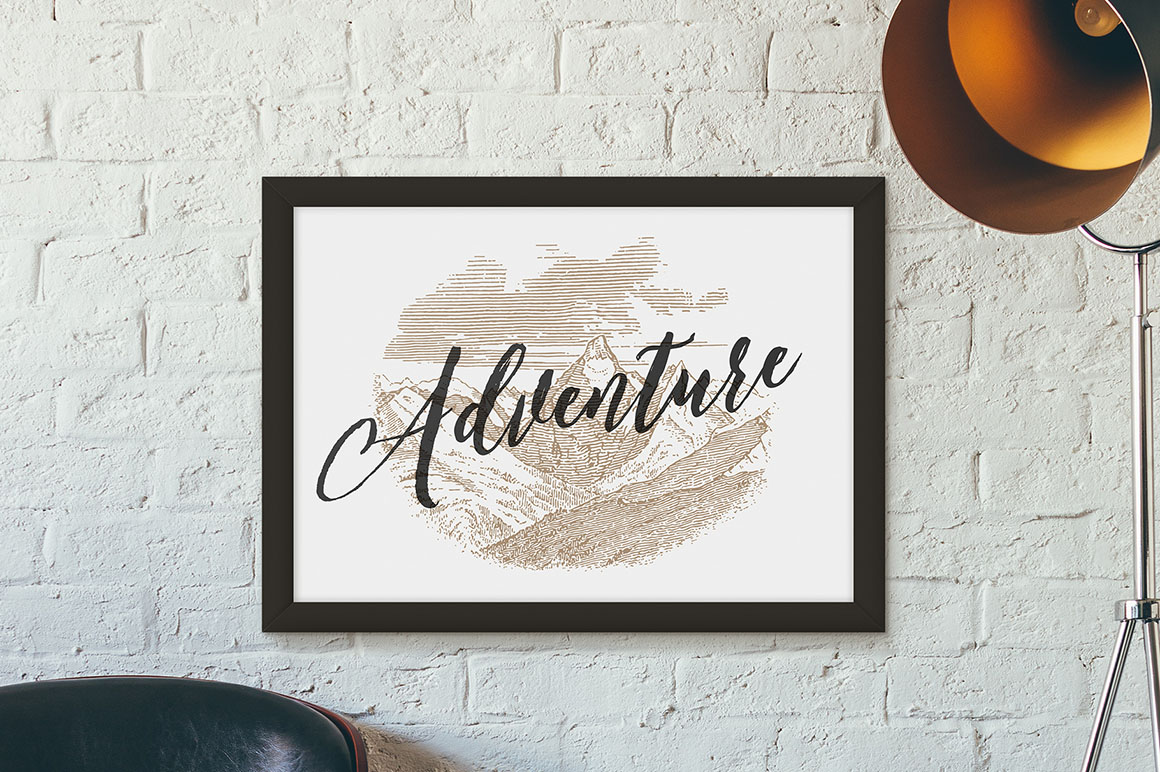 Adventure - Vintage Engraving Illustrations