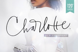Charlotte-Script-Elegant-Script-With-120-Ligatures-cover
