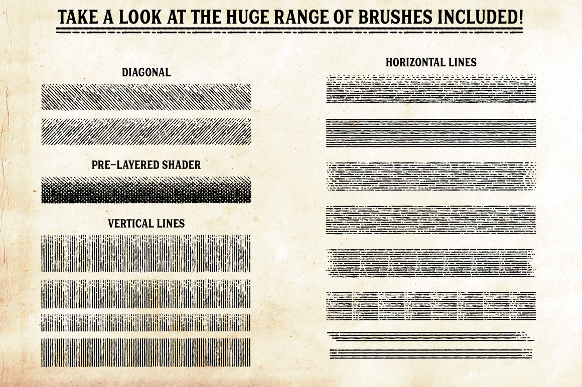 Finest Vintage - Affinity Brushes
