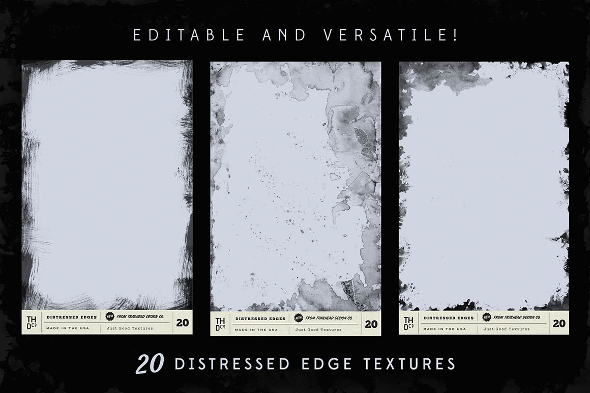 Just Good Textures – Distressed Edges