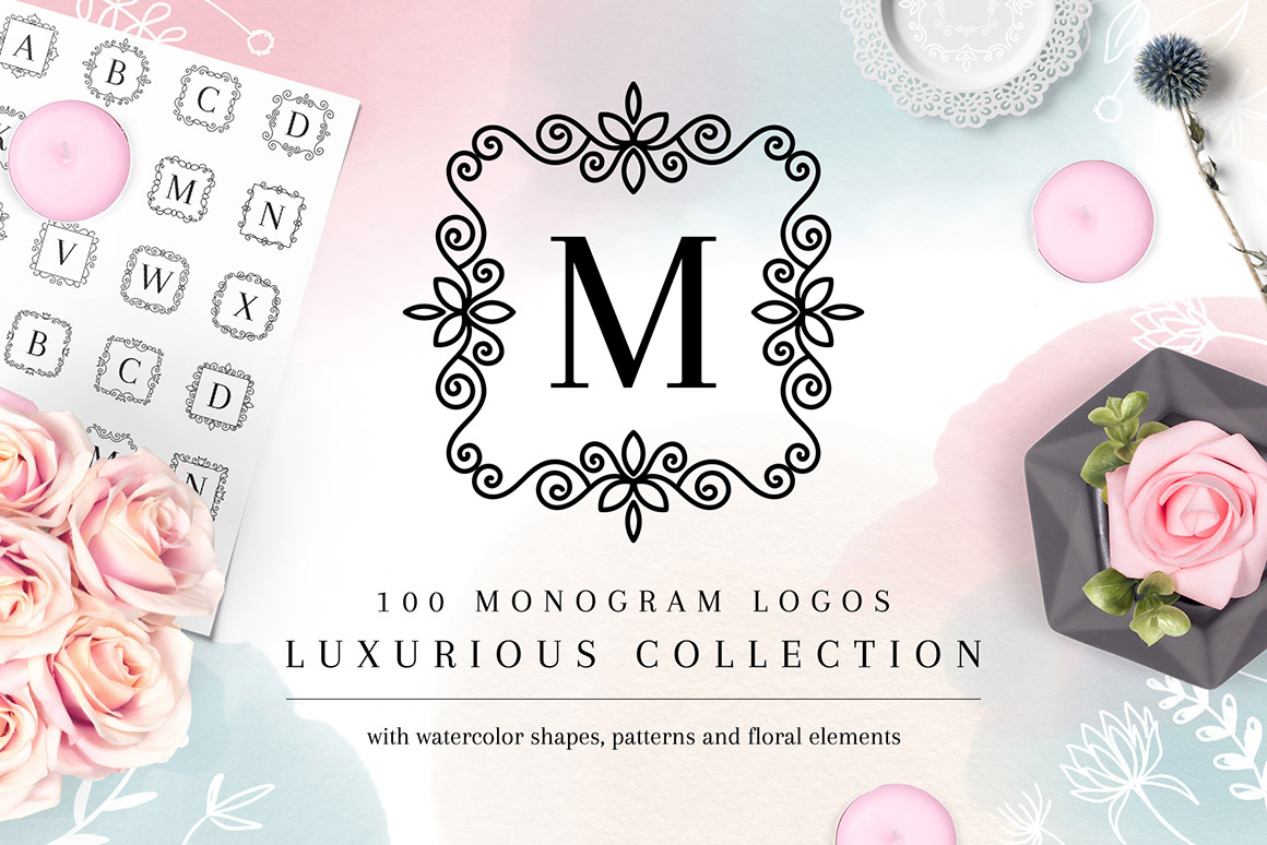 Luxurious Logos - Monogram Kit