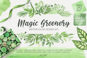 Magic-Greenery-Watercolor-Design-Kit-cover