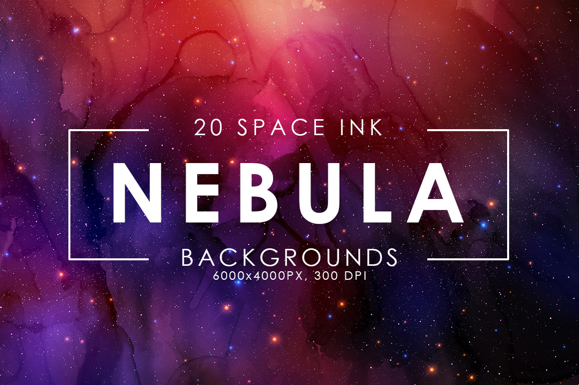 Nebula Ink Backgrounds