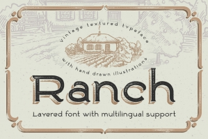 Ranch-Vintage-Font-and-Illustrations-cover