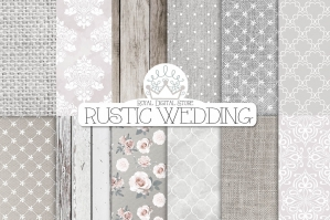 Rustic Wedding Textures Pack