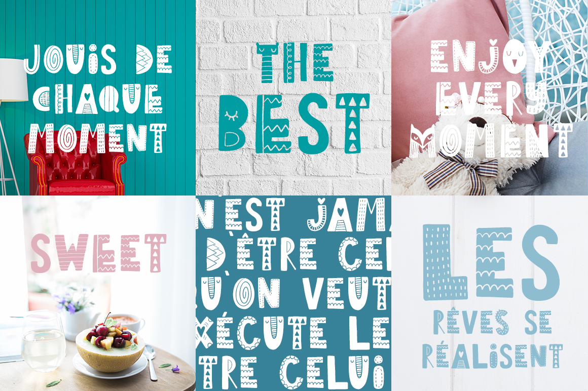 Tiny Joy Font - Scandinavian & Kids