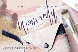 Womanly - Artistic Vector Textures