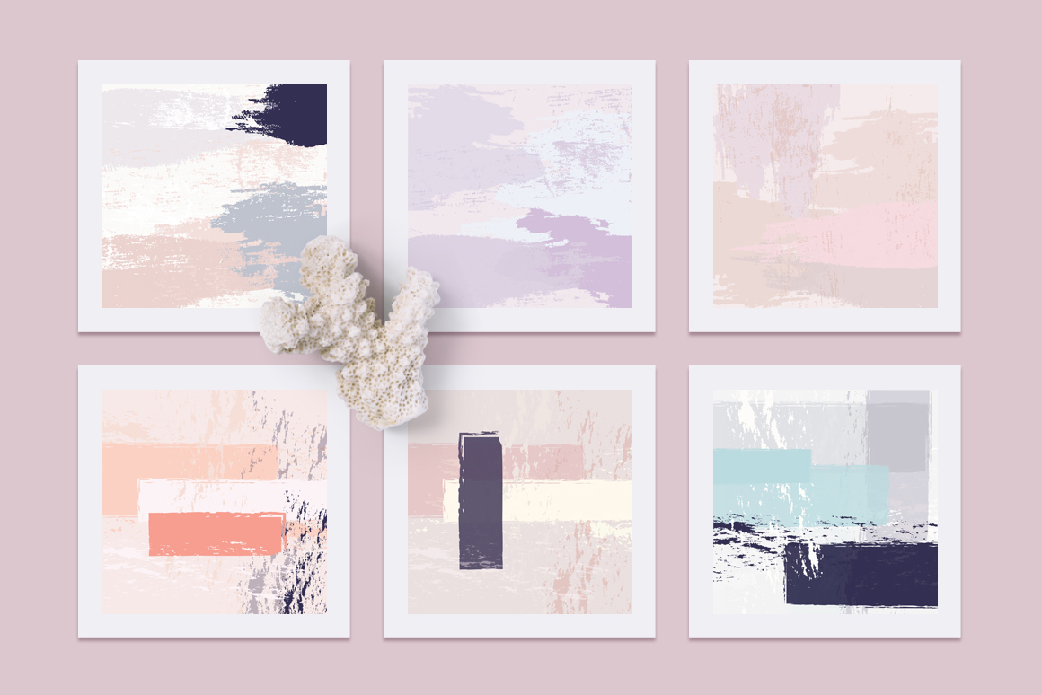 Womanly- Artistic Vector Textures