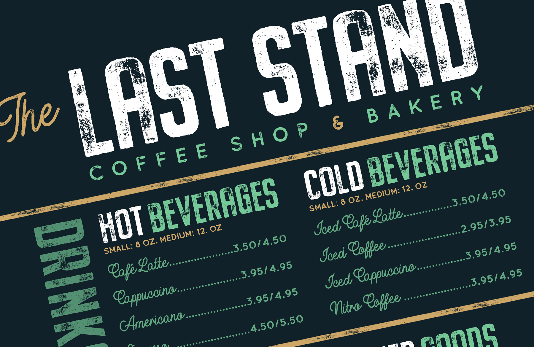 How to Create a Coffee Shop & Bakery Menu Design in Photoshop