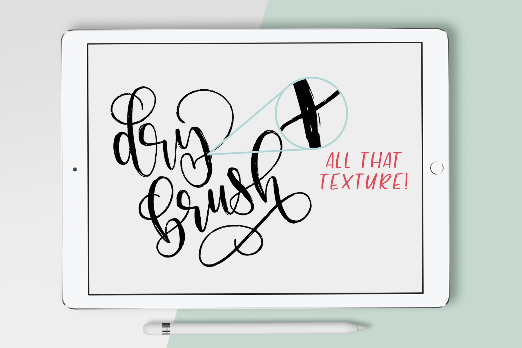 10 Procreate Brushes - The Essential Brush Pack
