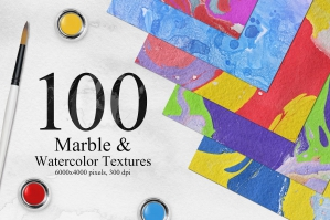 100-Bright-Marble-and-Watercolor-Backgrounds-cover