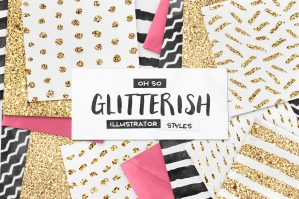 100-Glitter-Illustrator-Swatches-Plus-Extras-strip1