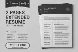 2-Pages-Resume-CV-Extended-Pack-cover