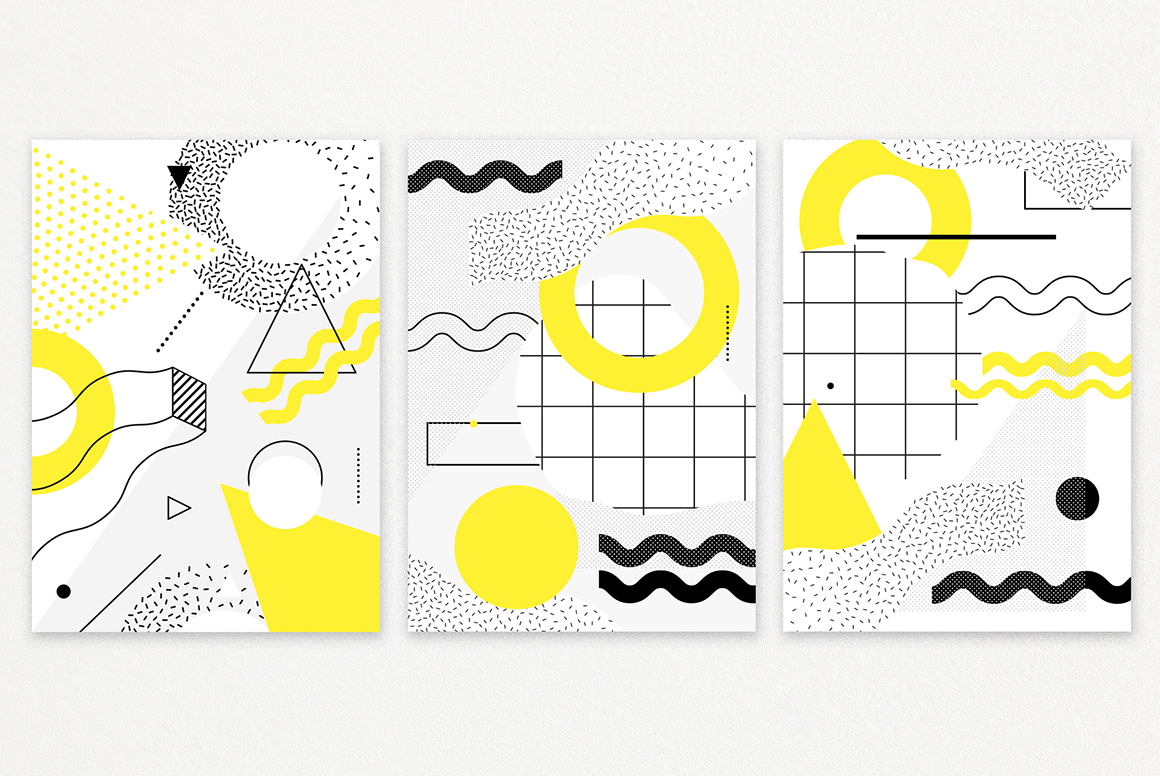 60 Geometric Shapes & 30 Posters