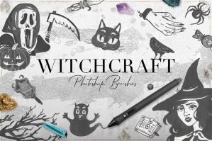 75-Witchcraft-Photoshop-Brushes-cover