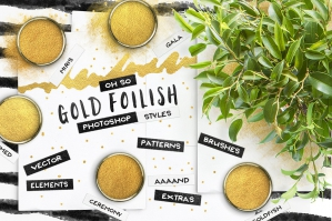 80 Gold Foil Styles