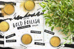 80-Illustrator-Gold-Foil-Swatches-cover