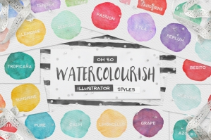 90-Watercolor-Illustrator-Styles-cover