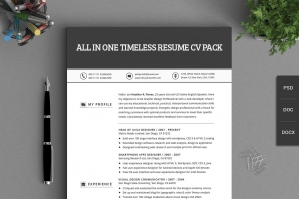 All-In-One-Timeless-Resume-CV-Pack-cover