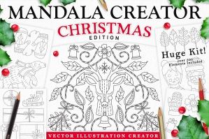 Christmas-Holiday-Mandala-Creator-cover