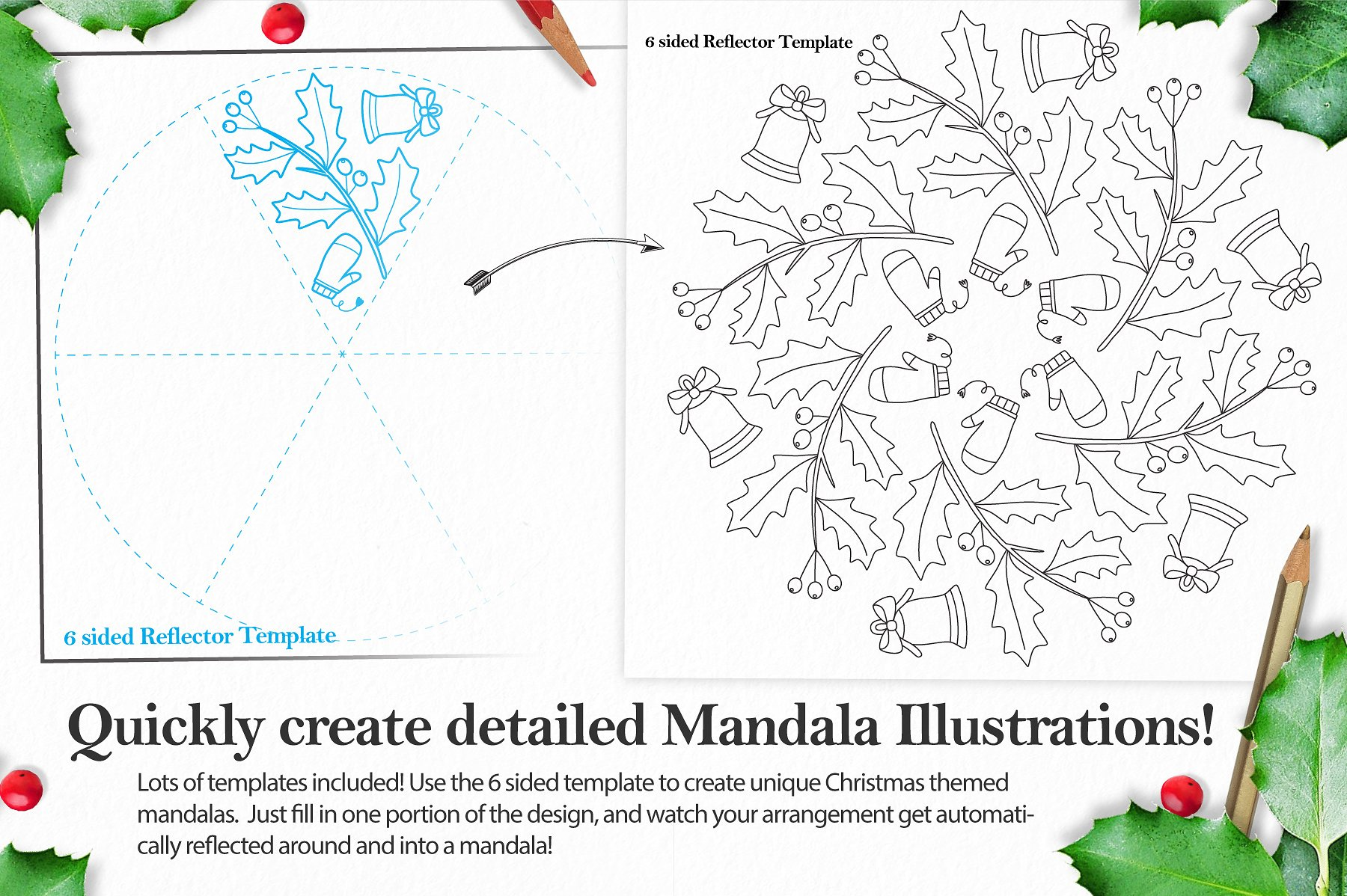 Christmas Holiday Mandala Creator