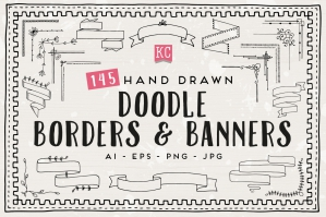 Doodle-Borders-And-Banners-cover