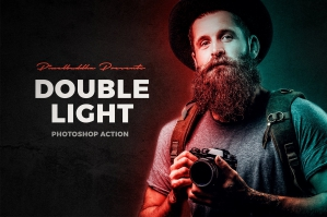 Double-Light-Photoshop-Action-cover
