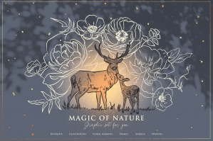 Floral-and-Animals-Winter-Graphic-Illustrations-cover