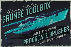 Grunge-Toolbox-Procreate-Brushes-cover