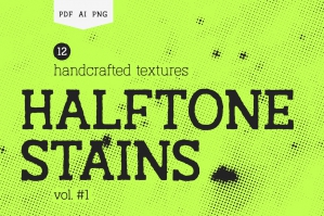 Halftone-Stains-Vol1-Texture-Pack-cover