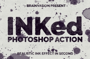 INKed-Photoshop-Action-cover