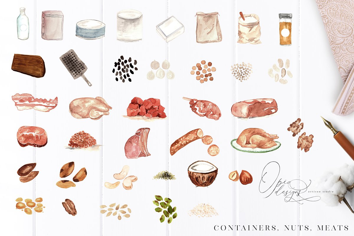 Illustrated Recipes Creator