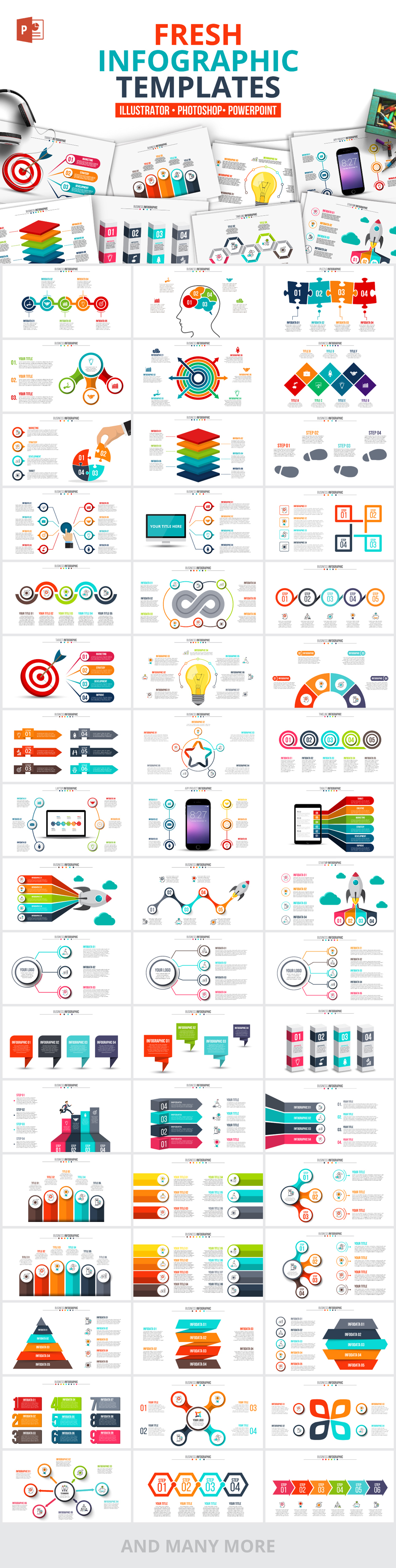 Infographic Templates Presentations