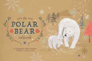 Polar-Bear-Christmas-Clipart-Set-cover