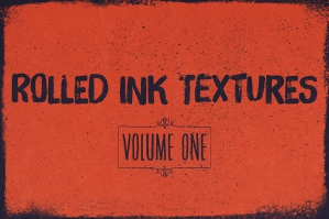 Rolled Ink Textures Volume 1