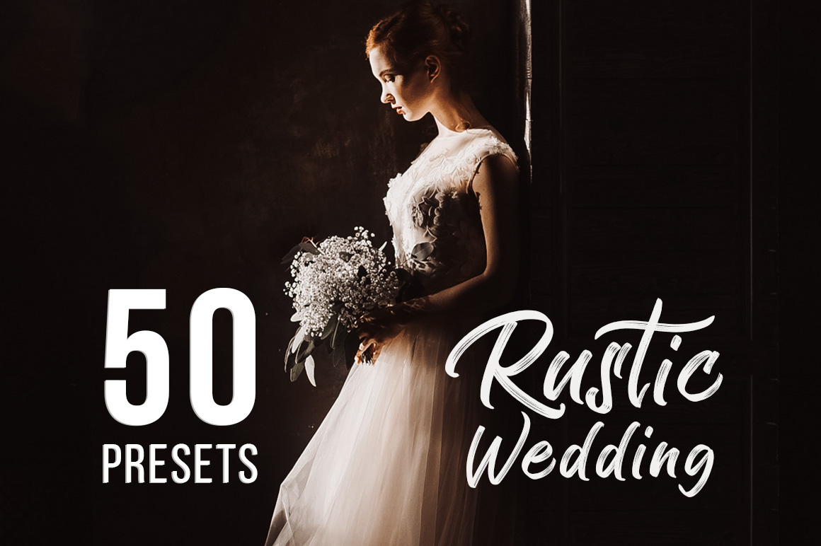 Rustic Wedding Presets for Lightroom & ACR