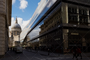 Streetview Of St. Pauls Cathedral
