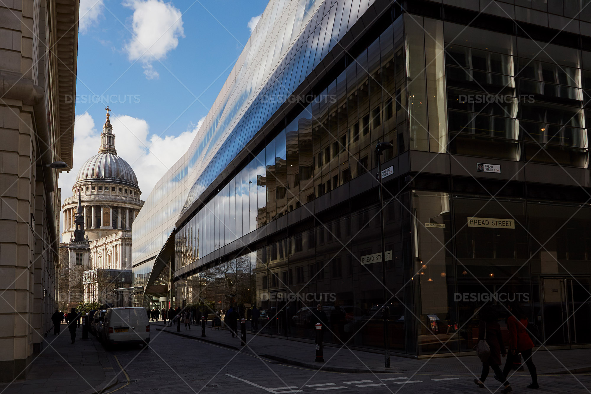 Streetview Of St Pauls Cathedral