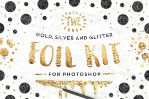 Photoshop Gold Foil Kit Essentials + Bonus