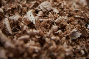 Woodchips Closeup