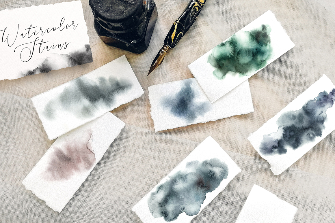 Cold forest- Winter Graphic Watercolor Set