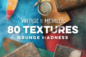 80-Vintage-And-Metallic-Textures-cover