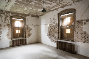 A Deserted Operating Theatre In Ellis Island Immigration Hospital