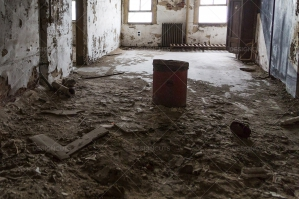 A Deserted Ward In Ellis Island Immigration Hospital No. 1