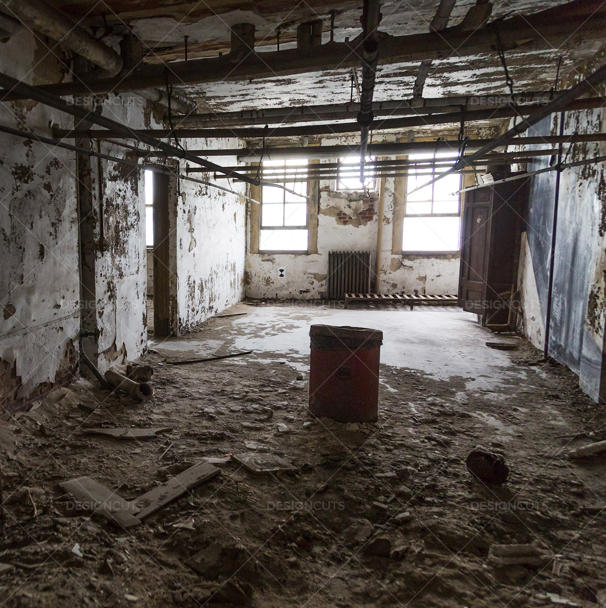 A Deserted Ward In Ellis Island Immigration Hospital 1