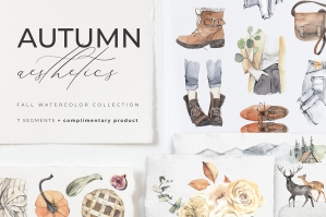 Autumn-Aesthetics-Lifestyle-Watercolor-Collection-cover